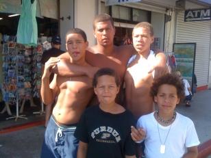 Hanson cousins and Zach